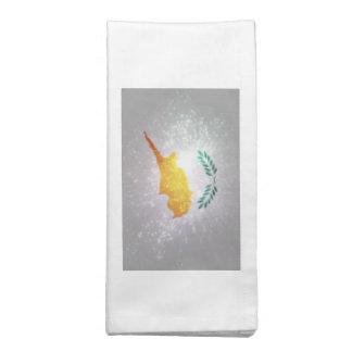 Κύπρος σημαία guardanapos de pano
