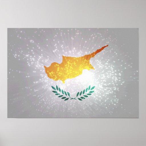 Κύπρος σημαία posters