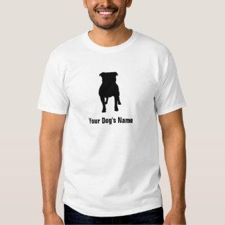テリア do ・ do ブル do ・ do スタッフォードシャー de Staffordshire Camiseta