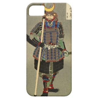 山中幸盛 de Yukimori do guerreiro do samurai - 月岡芳年 de Capa Para iPhone 5