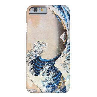 神奈川沖浪裏, grande onda do 北斎, Hokusai, Ukiyo-e Capa Barely There Para iPhone 6