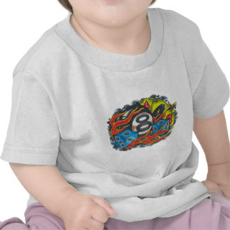 00001 lamas do Bola 8 Camiseta