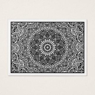 01 Kaleidoscopic (cartão do ouro) Cartão De Visitas