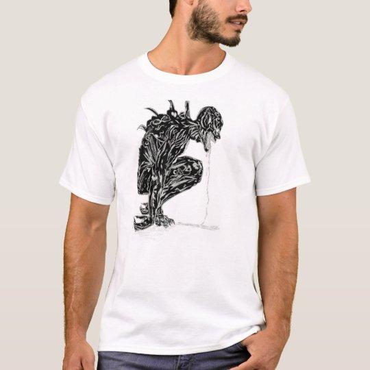 01 - T-shirt Black Demon - Back Camiseta
