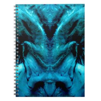 038-2-2ablue dämon 2 cadernos espiral