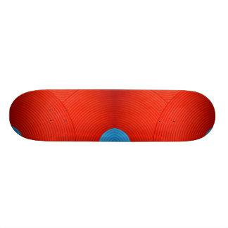 06 skate azul & vermelho