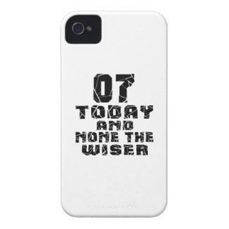 07 hoje e nenhuns o mais sábio capa para iPhone 4 Case-Mate
