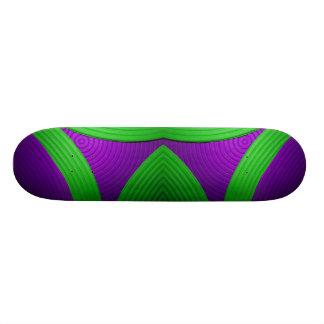 09 skate verde & roxo do eco