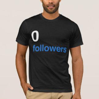 0 seguidores - WH Camiseta