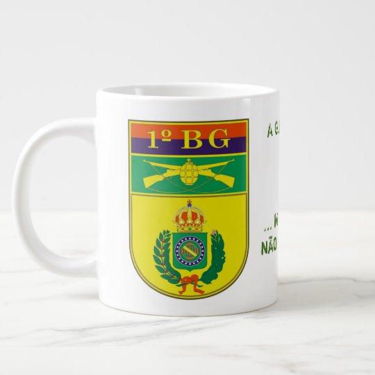 1º Batalhão de Guardas - Caneca de Café Grande