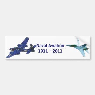 100 anos de aviação naval adesivo para carro