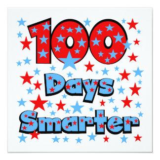 100 dias mais esperto convite personalizado