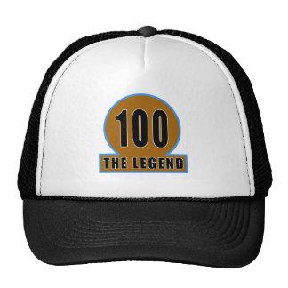 100 o design do aniversário da legenda bones
