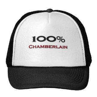 100 por cento Chamberlain Boné
