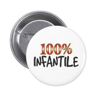 100 por cento infanteis botons