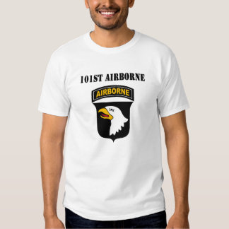 101st Transportado por via aérea Camisetas