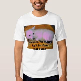 102_0857, ko de MAHAL do ka de Kamusta? im SALAMAT Camiseta