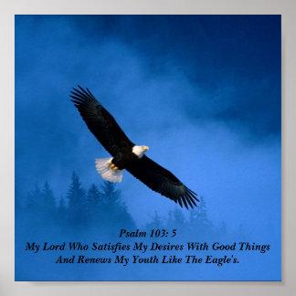103:5 do salmo poster
