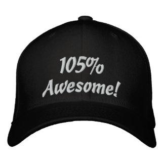 105 por cento impressionante! boné de beisebol