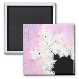 108-01 Mandy preta em um céu cor-de-rosa Imã