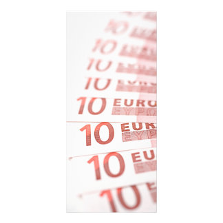 10 euro 10.16 x 22.86cm panfleto