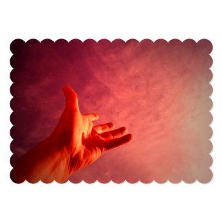10 mandamentos convite 12.7 x 17.78cm
