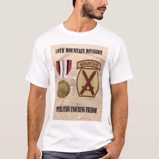 10o Camisa da divisão da montanha