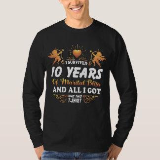 10o Camisa do aniversário para a esposa do marido