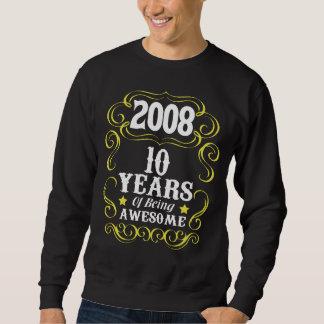 10o Camisa do aniversário para meninas/meninos