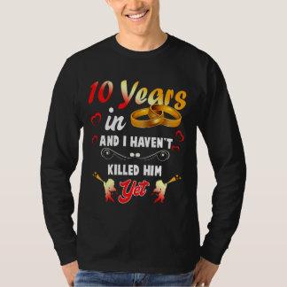 10o camisa engraçada de Anninversary