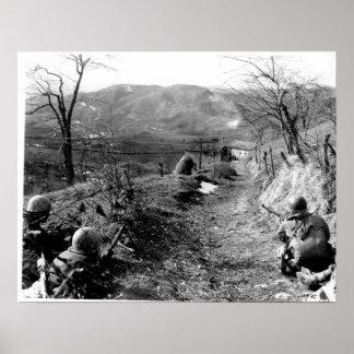 10o Divisão da montanha Pôster