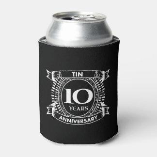 10o lata do aniversário de casamento