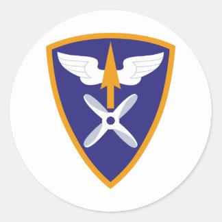 110th Brigada de aviação Adesivos Redondos