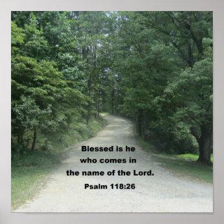 118:26 do salmo impressão