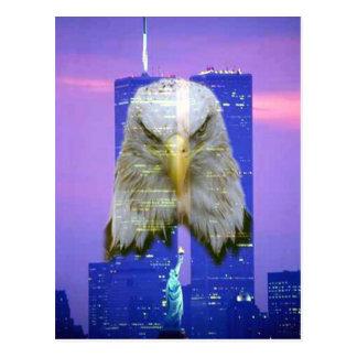 11 de setembro cartão da relembrança