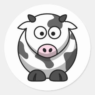 1216139760278927551lemmling_Cartoon_cow.svg.hi Adesivo Redondo