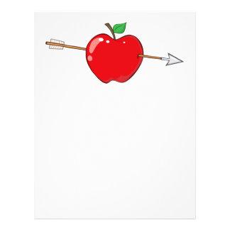 12935_RF_Clipart_Illustration_Arrow APPLE VERMELHO Flyer 21.59 X 27.94cm