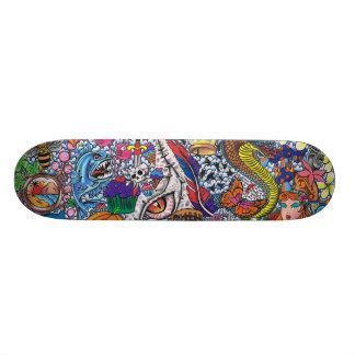 129 inspirações shape de skate 21,6cm