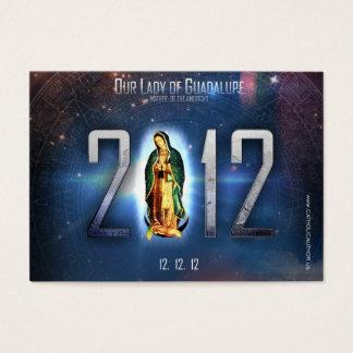 12.12.12 Comemorando nossa senhora de Guadalupe Cartão De Visitas