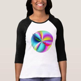 12/13/14 de t-shirt da bola de pena do arco-íris