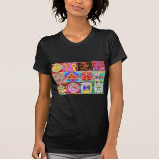 12 designs curas de Reiki n Karuna Reiki Camiseta