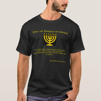 12 tribos de Israel: Deixe-nos ouvir a conclusão Camiseta