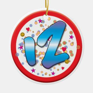 12o Aniversário Ornamento