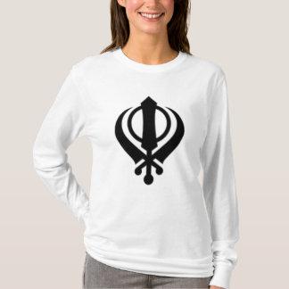 130px-Khanda1_svg Camiseta