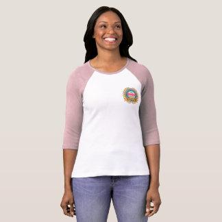 135th Camisa da Quarto-Luva das mulheres do