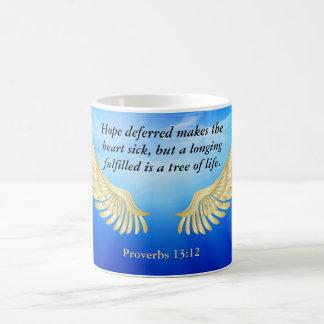13:12 dos provérbio caneca de café