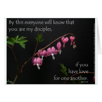 13:35 de John - amor para um outro Cartão Comemorativo