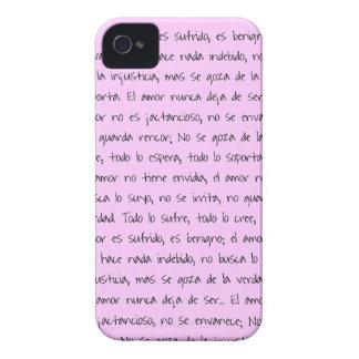 13:4 de Corintios - 7, EL personalizar cor de Capas Para iPhone 4 Case-Mate