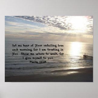 143:8 do salmo impressão