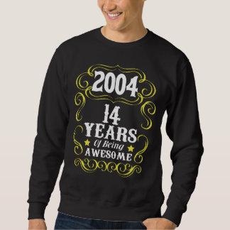14o Camisa do aniversário para meninas/meninos